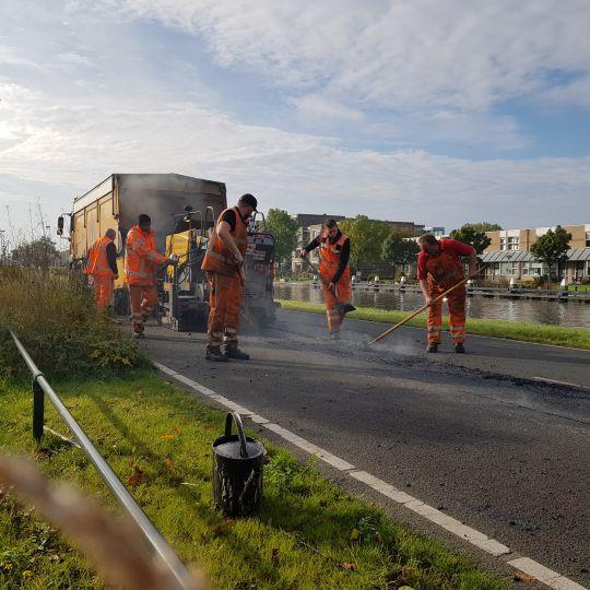 werkzaamheden asfaltreparatie