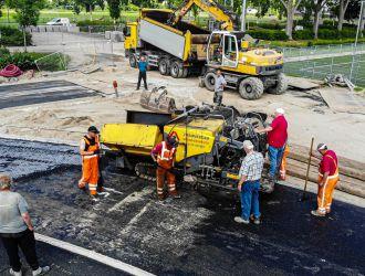 atletiekbaan asfalteren